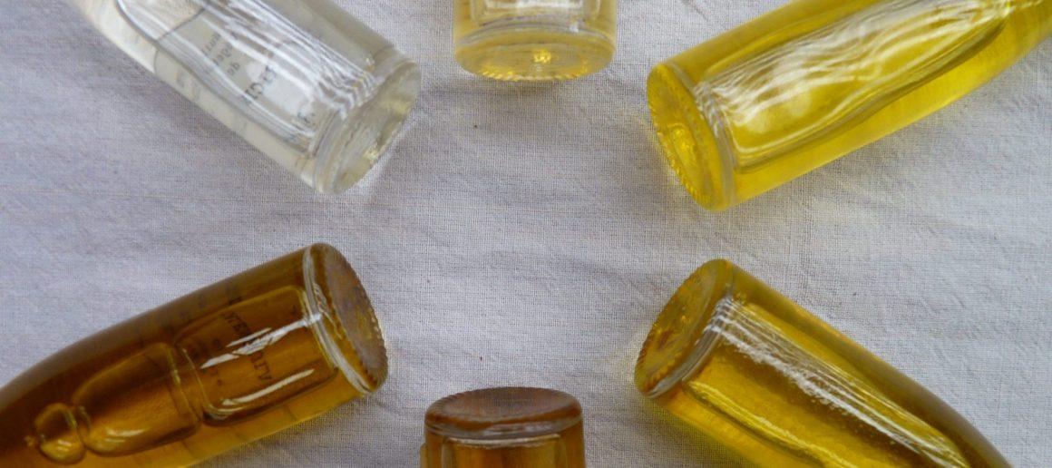 Les huiles végétales et autres phases huileuses